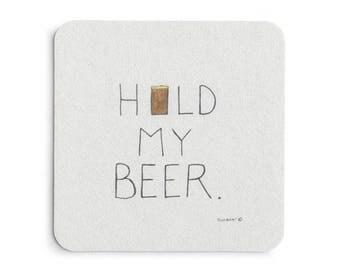 Beer coasters for beer lovers!