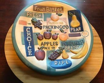 Fruit Basket Plate