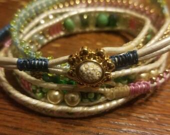 Funky 5x wrap bracelet