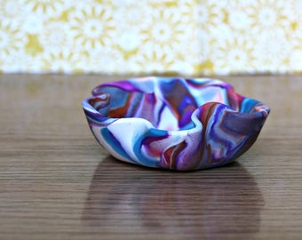 Marbled Ring Bowl
