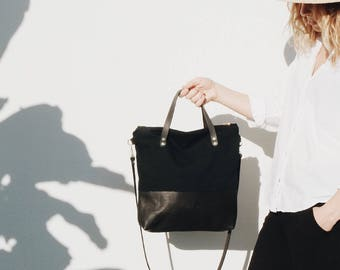 Boho Bag, Festival Bag, Hipster Bag, Blogger Bag, Crossbody Bag, Gift for her, Black Bag, Leather Bag, Hobo Bag, eveandadis, BOHO BAG
