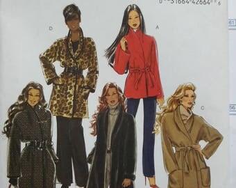 Butterick Jacket/Coat Pattern Sizes 14-20