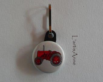 Zipper Zip zipper Red Tractor Badge Strap.