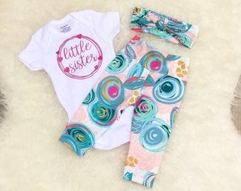 Cotton Candy Little Sister Set