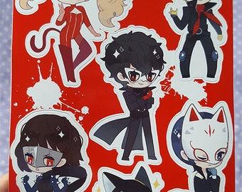 Persona 5 Sticker 5x6 Sheet