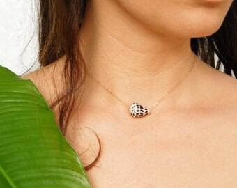 Cone Shell Necklace, Seashell Necklace, Seashell Choker, Shell Necklace, Cone Shell Choker, Cone Shell Jewelry, Seashell Jewelry