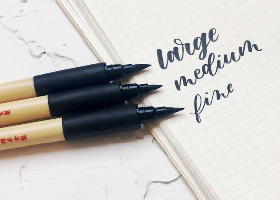 Modern Brush Calligraphy Lettering Pen Set By Kuretake Zig