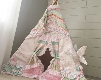 TEEPEE SHOWCASE, Francie & Co custom designed childrens teepees. Let's create the perfect kids teepee for your special child. 6ft
