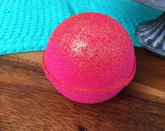 Rose Gold Bath Bomb Natural Handmade Bath Fizzy -Rose Jam- Valentines Day Gift
