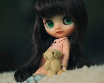 Custom Blythe Dolls For Sale by MAYA. Oaak custom middie.