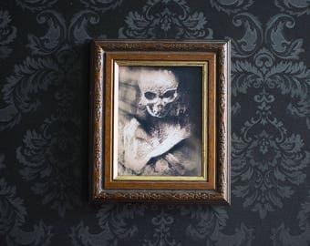 Framed Memento Mori Print