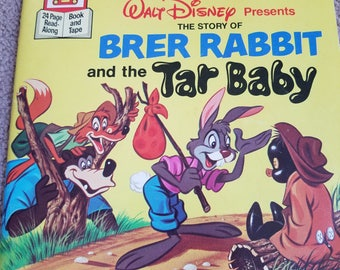 Vintage Brer Rabbit and the Tar Baby