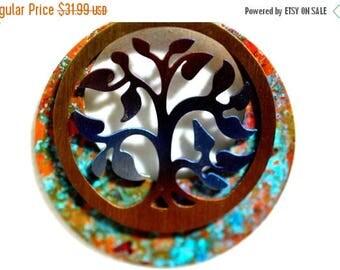XMASINJULY Family Tree Necklace - Tree of life - mothers gift - patina jewelry - tree of life pendant - tree necklace - tree charm - new mom