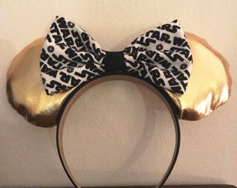 Star Wars Ears, Star Wars Mickey Ears, Star Wars, Mickey Ears, Minnie Ears, Mickey Mouse, Minnie Mouse, Disney Ears