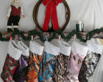 Christmas is coming ! Camo Christmas stockings in 25 Camo colors available