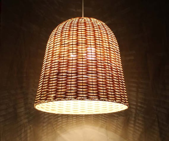 Like this item? & Bell Shaped Rattan Lighting Fixtures-Pendant Lights-Rustic azcodes.com