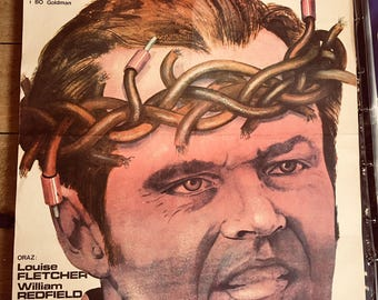 One Flew Over The Cuckoo's Nest Polish Original Film Poster Jack Nicholson