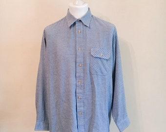 SALE Vintage 1990s dogtooth shirt
