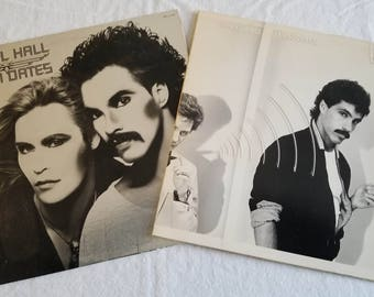 "Hall and Oats Vintage Vinyl - ""Daryl Hall and John Oats"" and ""Voices"""