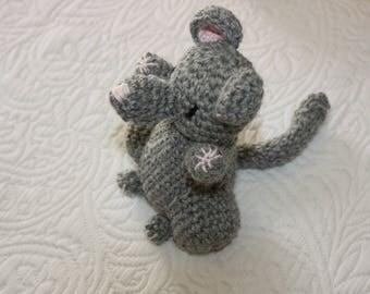 "Amigurumi ""Little mini mouse"""