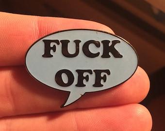F*ck off hat pin le 100