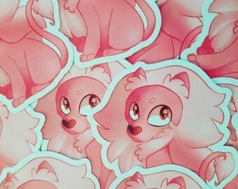 Lion Steven Universe Sticker Anime Nerd Geek Video Game Fan Art