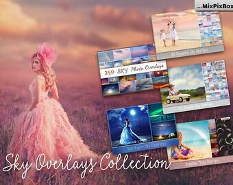 Sky Overlays Collection, Pastel sky, sky overlay, english sky, realistic sky, photoshop, overlays, beach sky, clouds, gimp,  skies, rainbow