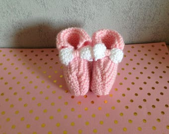 Nice pair of booties for premature baby
