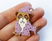 Mopshonden Pin | Mopshonden Broche | Hard Emaille | Mopsje Pin | Mops Cadeau | Pug Cadeau | Nais Products