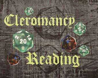 Cleromancy (Dice) Reading