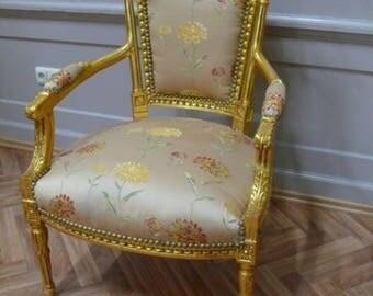 Baroque Chair Armlehner Chair AlSa0315Se