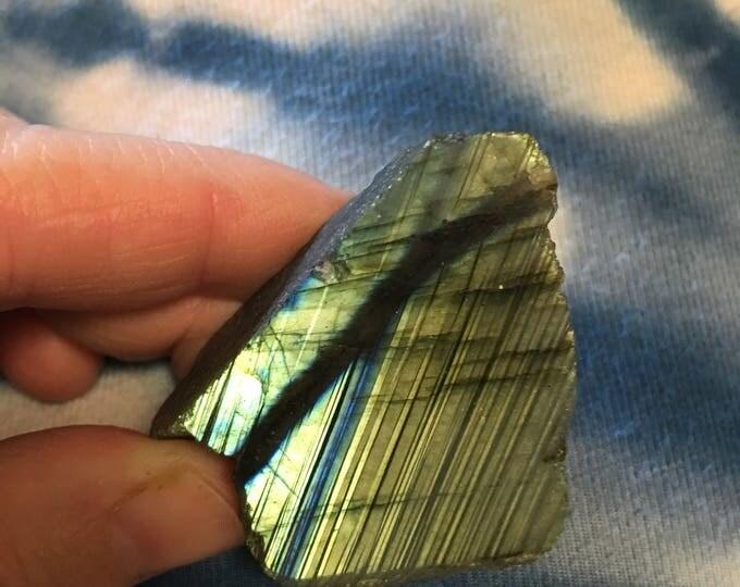 Labradorite with flash
