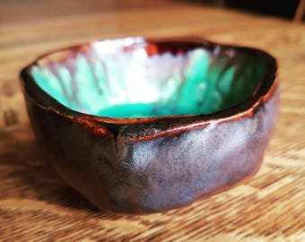 Hand carved bowl.
