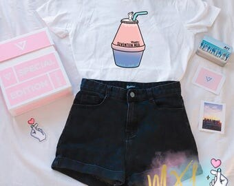 Seventeen Milk Kpop T-Shirt (By Maggie Liu and Jenni Griffiths)