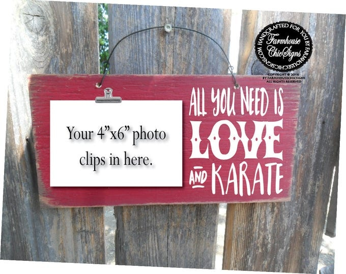 karate, karate belt display, karate kid, karate party favors, karate gift, gift for karate, all you need is love and karate