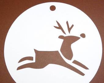 Circle deco deer