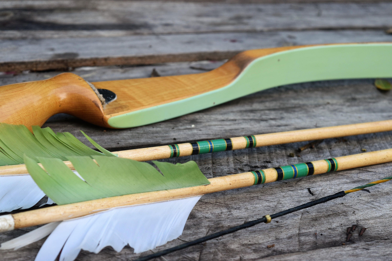 Archery Bow Vintage Bear Cub 45 Recurve Bow Rh