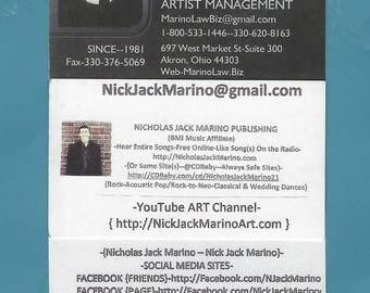 Nicholas Jack Marino Publishing