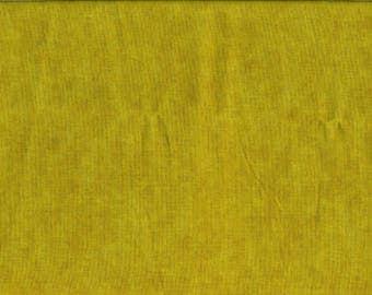 Tissu coton faux uni lumineux vert anis