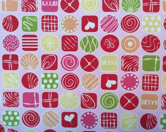 Candy Squares Fabric