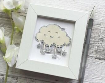 Happy Cloud - Miniature Papercut