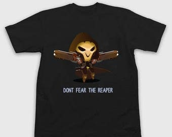 Overwatch Tee - Overwatch Shirt - Don't Fear the Reaper Color