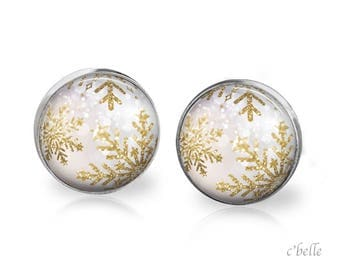 Christmas Earrings Winter-19