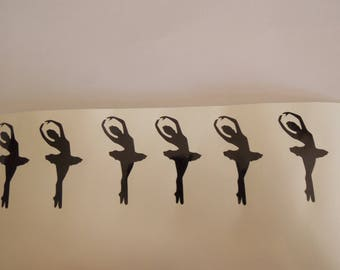 silhouette dancer vinyl decals