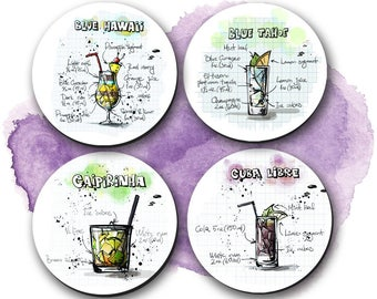 Coasters, Cocktails, Housewarming, Gifts, Coaster, CO00942