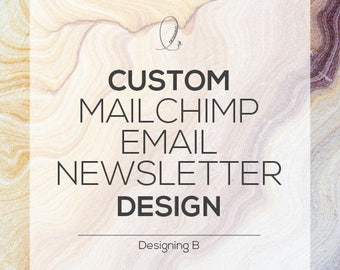 Custom Mailchimp Email Newsletter Template