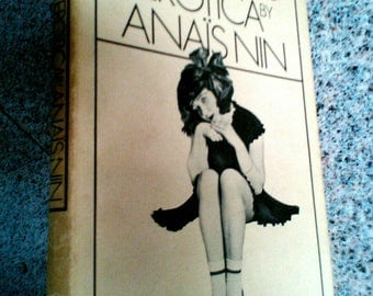 Little Birds Erotica by Anaïs Nin, First Edition 1979