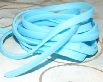 Headband turquoise plastic burna 50 cm