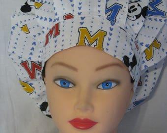 Bouffant Style Scrub Hat - Mickey Mouse Disney