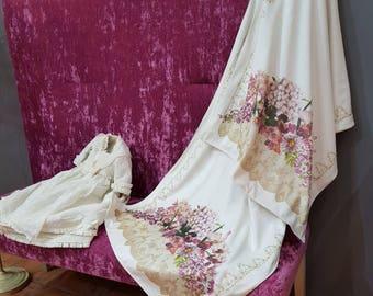 Floral Velvet pashmina